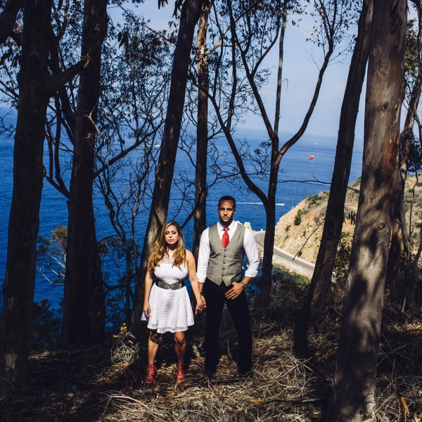 Catalina Engagement Photos | Jamie + Chaz